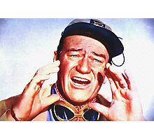 John Wayne in Hatari! Photographic Print