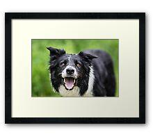 Happy Face Framed Print