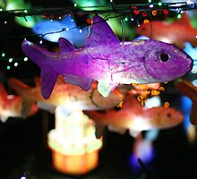 Purple Fish Lantern by nad23