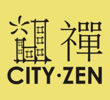 City Zen (black) by xouren