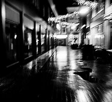 Blurry abstract black and white by mattijs