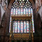 Carlisle Cathedral East Window by Phill Sacre
