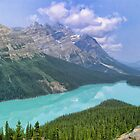 Peyto Lake - A Shooting Star by Chantal PhotoPix