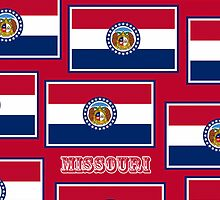 Smartphone Case - State Flag of Missouri - Horizontal V by Mark Podger
