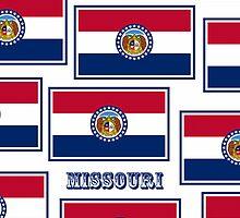 Smartphone Case - State Flag of Missouri - Horizontal VII by Mark Podger