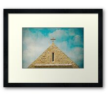 In Awe Of Geometry Framed Print