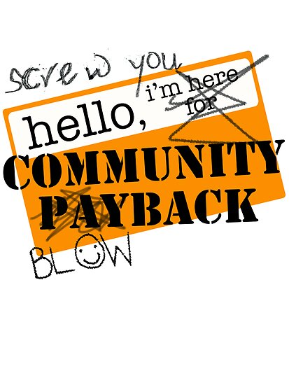 community BLOWBACK. by J-something