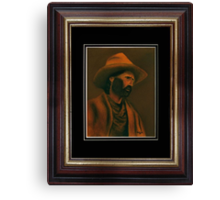 Tennessee Sodbuster ... with matted and framed look Canvas Print