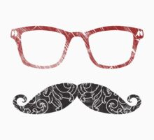 Moustglasses lovers - red by Medusa Dollmaker