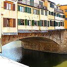 The Ponte Vecchio by Fara