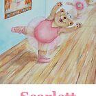 Scarlett Ballet Bear by Monica Batiste