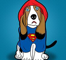 superman dog  by mark ashkenazi