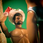 Barbie X-mas photography by Proyecto Realengo