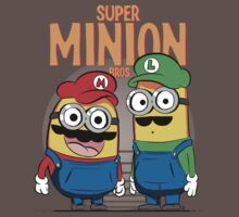Super Minion Bros. by TeeKetch