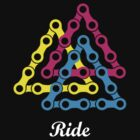 Ride / Chain / Solid Color by Richard Pasqua
