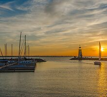 Lake Hefner,Oklahoma City USA by JohnDSmith