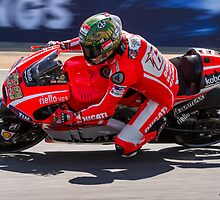 Nicky Hayden at laguna seca 2013 by corsefoto