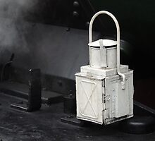 Steam Engine Lamp by Alexandra Lavizzari