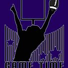 Game Time - Football (Purple) by Adamzworld