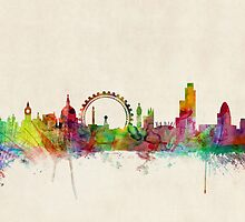 London Skyline by Michael Tompsett