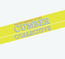 The Cumber Collective White by fangirlshirts