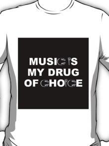 Black Block/ Mics & Headphones  T-Shirt