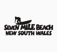 Seven Mile Beach Surfing by theshirtshops