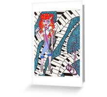 Operetta Greeting Card