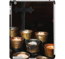 Church Candles iPad Case/Skin