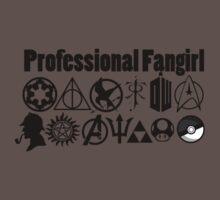 Professional Fangirl v4 Kids Clothes