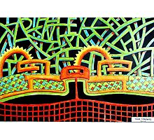 387 - ABSTRACT DESIGN - DAVE EDWARDS - COLOURE DPENCILS - 2013 Photographic Print