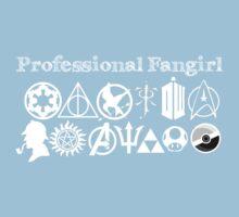 Professional Fangirl v2 Kids Clothes