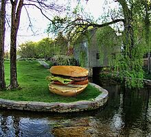 Burger by the Mill by GolemAura