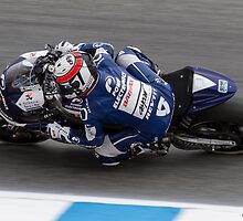 Randy De Puniet at laguna seca 2013 by corsefoto