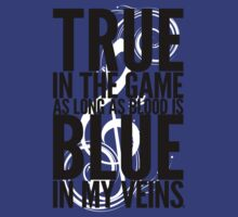 True In The Game As Long As Blood Is Blue In My Veins | Nas Shirt | FreshTS by FreshThreadShop