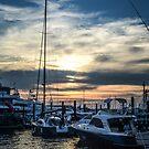 Newport Sunset #1 by Sara Bawtinheimer