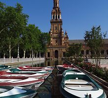 Rowing Boats, Plaza de Espana by wiggyofipswich