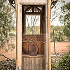 Outback Loo - Lightning Ridge - NSW by Frank Moroni