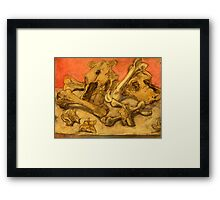 Bones of Death  Framed Print