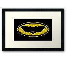 Gotham Gremlin (distressed) Framed Print