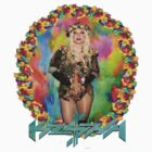 Ke$ha Floral by TeenageTragedy