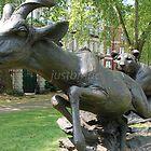 London: Lioness & Lesser Kudu by Jonathan Kenworthy by justbmac
