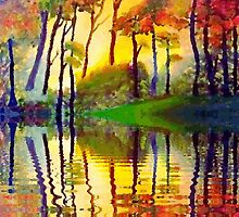 October Sunrise by Holly Martinson