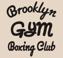 Brooklyn Gym Boxing Club by Chivieri Designs