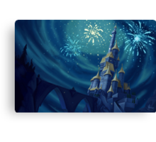 Portrait of a Kingdom: Beast's Castle Canvas Print