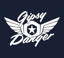 Gipsy Danger Logo white by karlangas