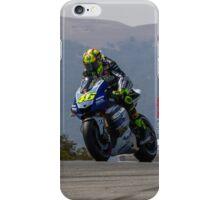 Valentino Rossi at laguna seca 2013 iPhone Case/Skin