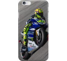 Valentino Rossi at laguna seca 2013 iPhone Case/Skin