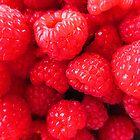 Rasberries by Blonddesign