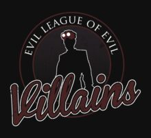 Evil League of Evil Villains by alecxps